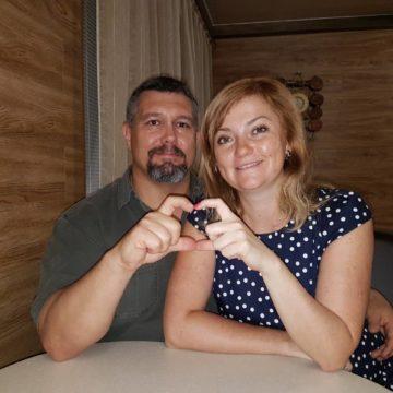 Светлана (Украина) и Джеймс (США)