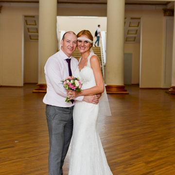 Эндрю (Северная Ирландия) и Ирина (Украина)
