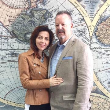 Джим (США) и Елена (Николаев)