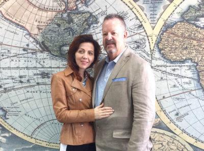Джим (США) и Елена (Николаев) – Апрель 2016