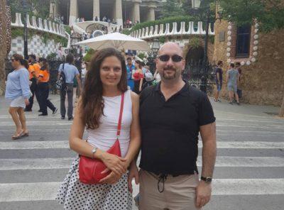 Филипп (Франция) и Юлия (Украина) – Июль 2018
