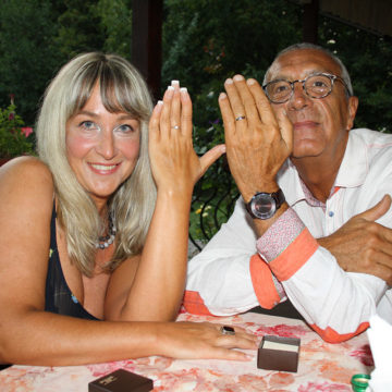 Ричард (Канада) и Элина (Украина)