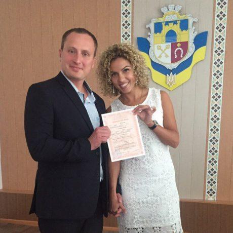Андрей (Великобритания) и Людмила (Украина)