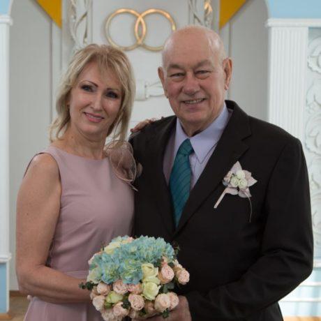 Джеймс (Великобритания) и Ирина (Украина) – Март 2019
